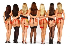 Sex in der Scheune mit sieben Mädchen